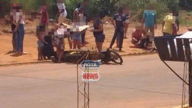 Photo of Colisão entre motocicletas deixa feridos no bairro União