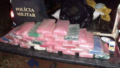 Photo of 11º BPM – Polícia Militar troca tiros com traficantes e apreende 32kg de Cocaína e prende um suspeito em Costa Marques/RO