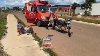 Photo of Terceiro acidente desta quarta-feira envolve dois motociclistas, um deles com sinais de embriaguez