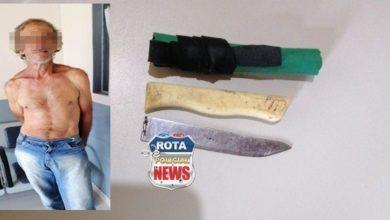 Photo of Homem tenta matar vizinha, esfaqueia policial militar e acaba preso em Corumbiara