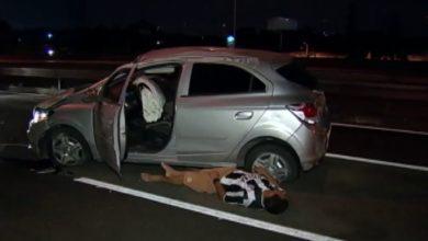 """Foto de Motorista que """"não parava em pé"""" de bêbado é preso após acidente de trânsito em Porto Velho"""