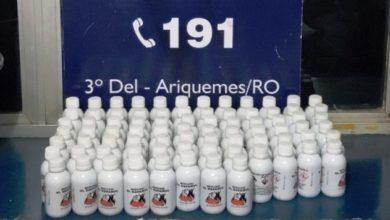 Photo of PRF apreende 80 frascos de mercúrio estrangeiro em Ariquemes
