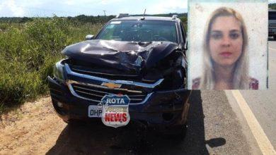 Foto de Identificada mulher que morreu atropelada por carreta após ter prestado apoio a vítimas de acidente