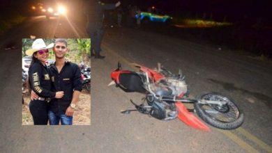 Photo of Casal de jovens morre após colisão entre motocicleta e caminhão na área rural