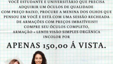 Photo of Promoção volta as aulas das óticas A Menina dos Olhos é imbatível