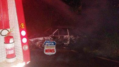 Photo of Veículo é destruído por incêndio em Cerejeiras e bombeiros são mobilizados