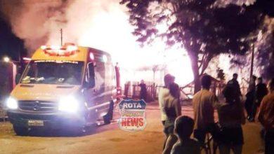 Photo of Urgente: casa onde ocorreu homicídio é incendiada em Vilhena