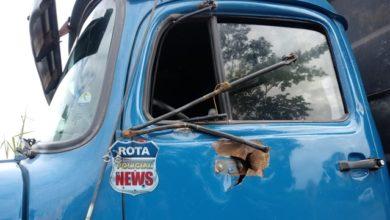 Photo of Após motorista cochilar no volante, caminhões se envolvem em acidente entre Vilhena e Colorado