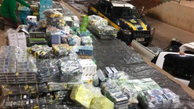 Foto de PRF flagra mais de 95 mil reais em equipamentos eletrônicos sem nota fiscal em Vilhena