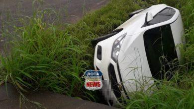Photo of Motorista perde controle de direção e tomba em Colorado do Oeste