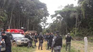 Photo of Operação Policial garante reintegração de posse da Fazenda Jatobá em Machadinho
