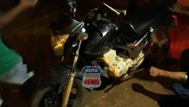 Photo of Motociclista sofre escoriações após acidente na avenida Rondônia