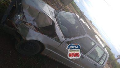 Photo of Motorista de Uno perde o controle de direção e atinge muro de casa no residencial Alvorada