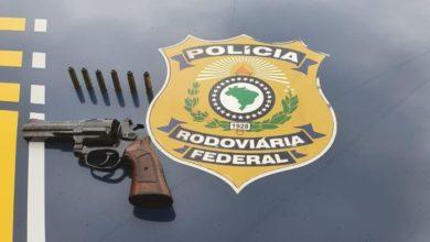 Photo of PRF prende homem com revólver e munições na capital