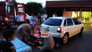 Photo of Motociclista sofre ferimentos após acidente no bairro Embratel em Vilhena