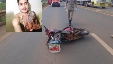 Photo of Motociclista que morreu em acidente na BR-364 em Vilhena é identificado