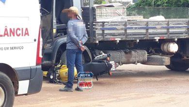 Foto de Três acidente são registrados, sendo que dois envolveram caminhões em Vilhena nesta manhã
