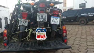 Photo of Urgente: Polícia Militar recupera três motocicletas que haviam sido roubadas em Vilhena