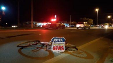 Photo of Ciclista de 16 anos sofre ferimentos após acidente na BR-364 em Vilhena