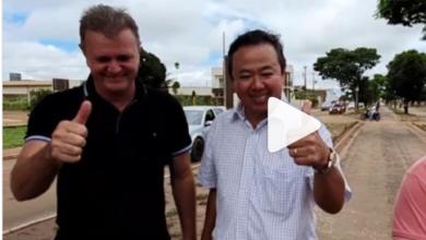Foto de Em vídeo, Goebel e Eduardo Japonês falam sobre iluminação da avenida Melvin Jones