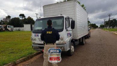 Photo of PRF em Vilhena apreende caminhão com adulteração nos sinais de identificação