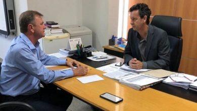Foto de Goebel se reuni com o diretor geral do Detran/RO programando visitas no Cone Sul