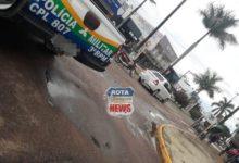 Photo of Carro e motoneta colidem no Centro e polícia é acionada