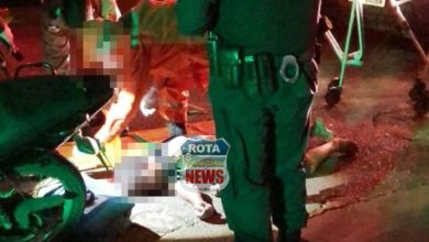 Foto de Polícia investiga caso de homem que foi espancado a capacetadas em pátio de posto