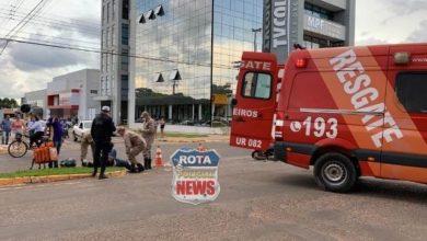 Photo of Entregador atinge carro que avançou preferencial no Centro de Vilhena