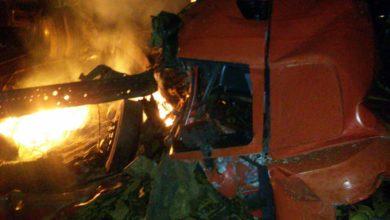 Photo of Motorista morre após colisão de carretas na BR-364