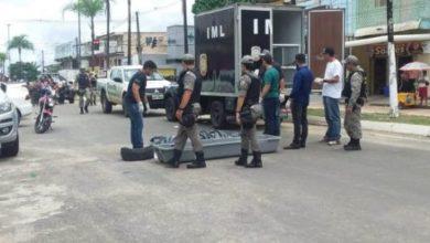 Photo of Criminosos trocam tiros com a PM e morrem durante assalto a Móveis Gazin