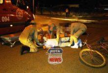Photo of Ciclista avança preferencial e acaba atingido por veículo no bairro Jardim Eldorado em Vilhena