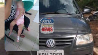 Photo of Durante roubo de veículo, marginais jogam bebê de colo pela janela em Vilhena
