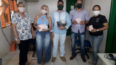 Foto de Mascaras de proteção são fabricadas por detentos do Presídio de Colorado do Oeste