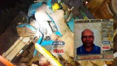 Photo of Reportagem recebe fotos de acidente que deixou motorista com fratura exposta na BR-364
