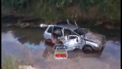 Photo of Motorista capota na RO-435 em Pimenteiras do Oeste e cai em barranco