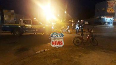 Photo of Ciclista em bicicleta motorizada avança preferencial e acaba atingida por motoneta
