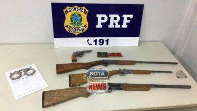 Photo of PRF de Vilhena prende duas pessoas e apreende armas de fogo e munições