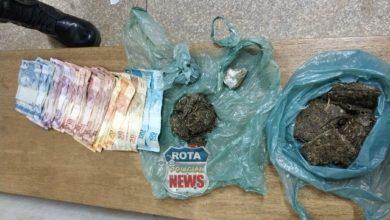 Photo of Mulher é presa pela PM por tráfico de drogas no Cristo Rei