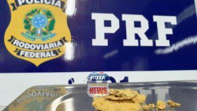 Photo of PRF apreende 100 gramas de ouro sendo transportadas sem nota fiscal em Vilhena