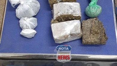 Foto de PATAMO prende traficante que vendia drogas no bairro Embratel em Vilhena