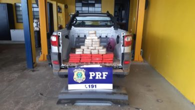 Photo of Urgente: PRF de Vilhena apreende 37 quilos de pasta base de cocaína