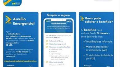 Photo of Goebel informa que a Caixa liberou link para saque de benefício emergencial da Covid-19