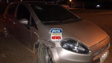 Photo of Motorista embriagado atinge carro parado e câmeras de segurança flagram acidente