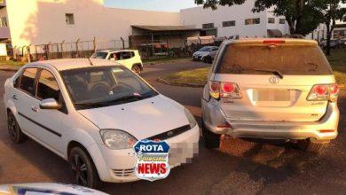 Foto de Colisão entre veículos resulta em danos materiais na avenida Presidente Nasser