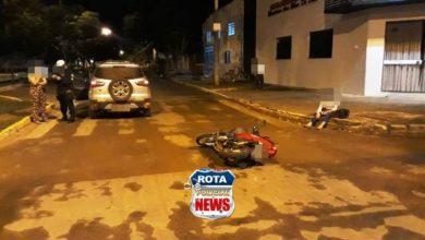 Photo of Colisão entre carro e motoneta é registrada nesta noite e Vilhena soma 06 acidentes