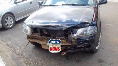 Photo of Colisão entre carro e motocicleta deixa motociclista ferido no Centro de Vilhena