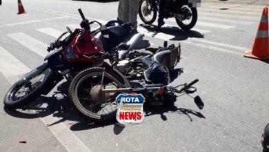 Photo of Colisão entre motocicletas deixa motociclista com fratura exposta no antebraço em Colorado do Oeste