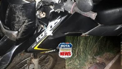 Photo of Capivara morre ao ser atingida por moto na BR-435 e motociclista é hospitalizado em Colorado