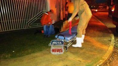 Foto de Motorista foge após atingir motociclista no Jardim Eldorado
